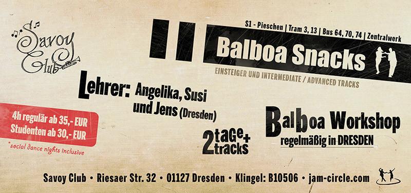 Links Jam Circle Swing Tanzen In Dresden